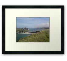 Peel Castle Isle of Man Framed Print