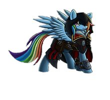 Rainbow Dash as Ezio Auditore by Derpyduelist
