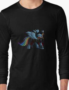 Rainbow Dash as Ezio Auditore Long Sleeve T-Shirt