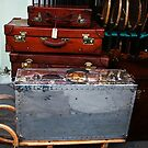 Vintage Suitcase by Lorraine Caballero Simpson (c more vision)