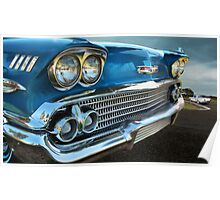 1958 Chevy Impala Poster