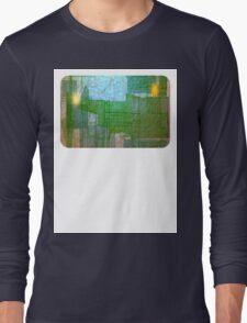 A Circle Amongst Squares Long Sleeve T-Shirt
