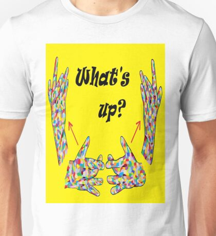 ASL What's Up? Unisex T-Shirt