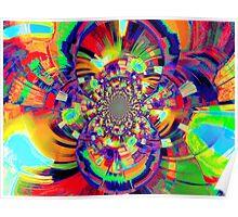 Bent Colors Poster