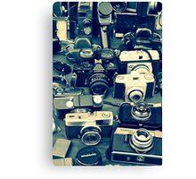 Vintage Camera's   Canvas Print