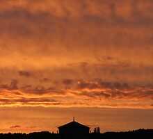 ironworks sun set (Portrait)  by wjrichards