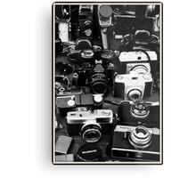 Vintage Camera's   Metal Print