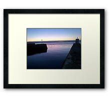 Nairn Harbour Scotland Framed Print