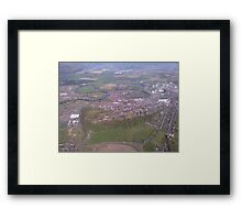Stirling Castle From the Air Framed Print