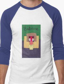 Baboon Men's Baseball ¾ T-Shirt