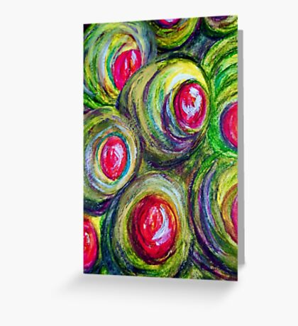 Olives in a Jar Greeting Card