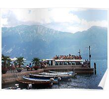 Taxi on Lake Garda Poster