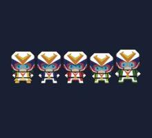 Mekkachibi Voltes Crew Kids Clothes