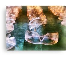 Rows of Safety Goggles Canvas Print