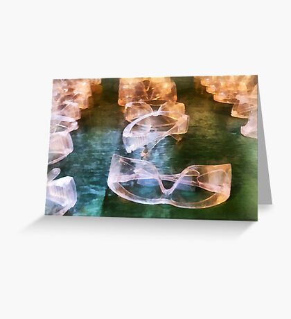 Rows of Safety Goggles Greeting Card