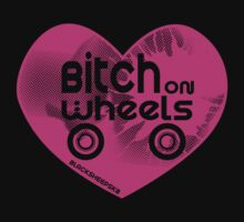 Roller Derby Bitch on Wheels by LucyDynamite
