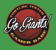 Giants Gamer Babe Kids Tee