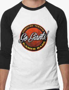 Giants Gamer Babe Men's Baseball ¾ T-Shirt