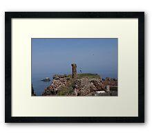 Dunbar Castle Scotland Framed Print