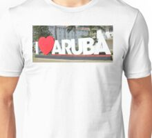 I love Aruba - One happy Island Unisex T-Shirt