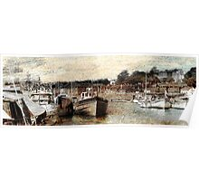 City Basin - Exeter Poster