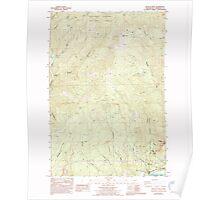 USGS Topo Map Washington State WA Beacon Rock 239963 1986 24000 Poster