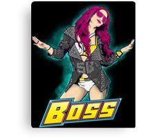 Sasha Legit Boss Canvas Print