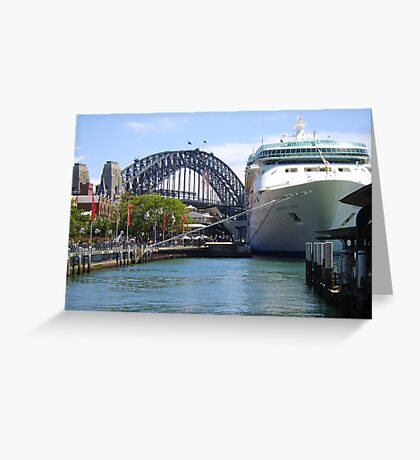 Rhapsody of the Seas, Sydney Greeting Card