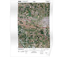 USGS Topo Map Washington State WA Sunnyside 20110502 TM Poster