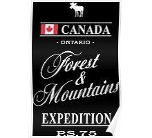 Canada - Ontario Poster