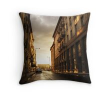 Hungarian streets pt.III. Throw Pillow