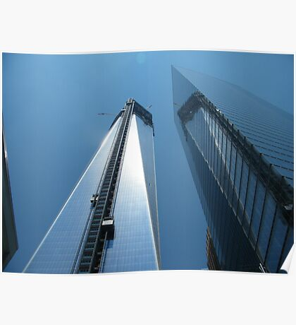The New World Trade Center Nears Completion, Lower Manhattan Poster