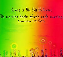 Great is His faithfulness by sarnia2