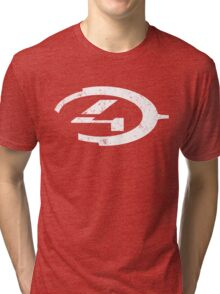 Halo 4 - Distressed Logo Tri-blend T-Shirt