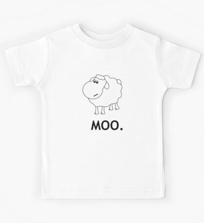 Confused Sheep Kids Tee