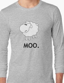 Confused Sheep Long Sleeve T-Shirt