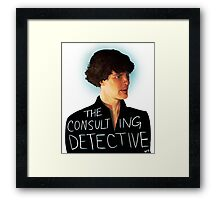 The Consulting Detective Framed Print