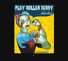 Play Roller Derby Parody Womens Fitted T-Shirt