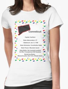 Connecticut Information Educational Womens Fitted T-Shirt