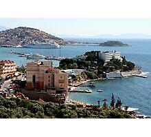 Harbor View from Kusadasi Photographic Print