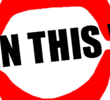 Born This Way Lips Sticker