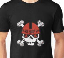 Black Sheep Roller Derby Scary Skulls Unisex T-Shirt