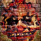 Fjoytneyr Bwezaczscyk Graffiti art by Scott Mitchell