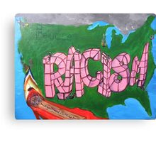 Racism #2 Canvas Print