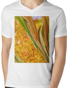 Corn in the Husk Mens V-Neck T-Shirt