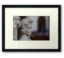 Pulpit Figure Framed Print