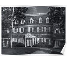 Hayfield House (back view) June 2012 Poster