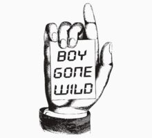 Boy Gone Wild Vintage T-Shirt One Piece - Long Sleeve