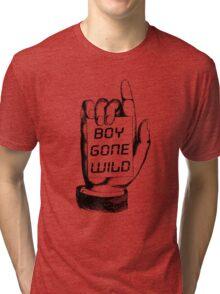 Boy Gone Wild Vintage T-Shirt Tri-blend T-Shirt