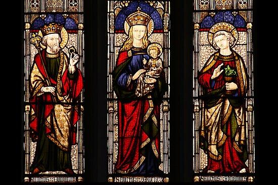 Lady Chapel Window by David W Bailey